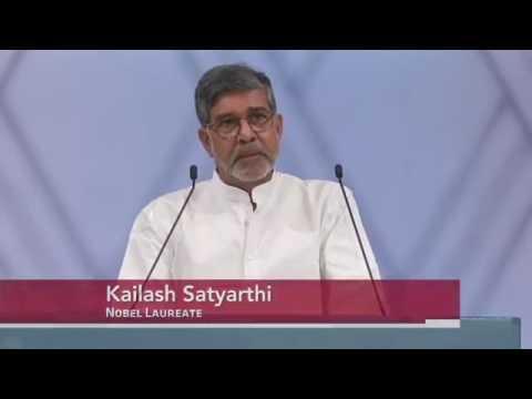 Kailash Satyarthi's Nobel Peace Prize acceptance speech
