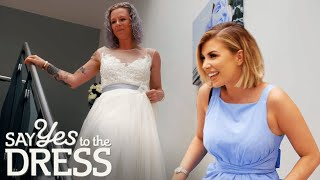 Seller Loves Bride So Much She Offers To Give Her Dress For Free | Second Chance Dresses