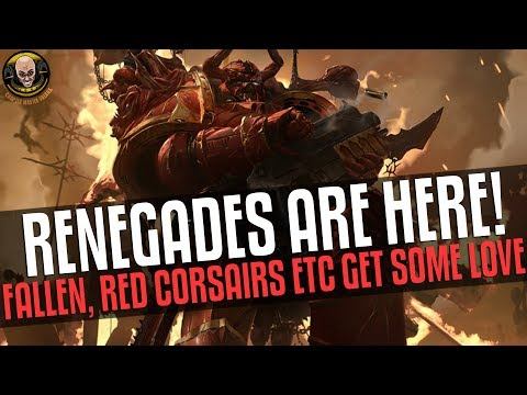 Renegades Are HERE! The Fallen, Crimson Slaughter And Red Corsairs Get Some Love!