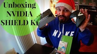 Unboxing NVIDIA SHIELD K1 Tablet + controller e problema con Eprice