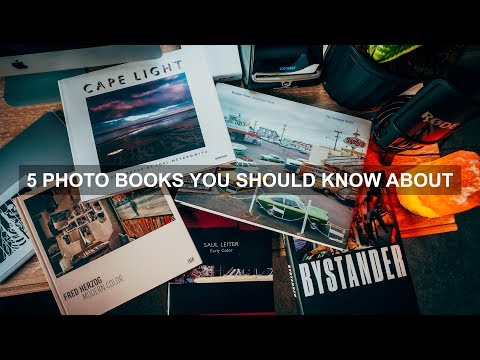 5 Photo Books You Should Know About