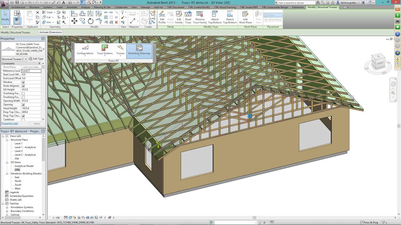 Truss Rt Webinar New Way To Design Your Trusses In