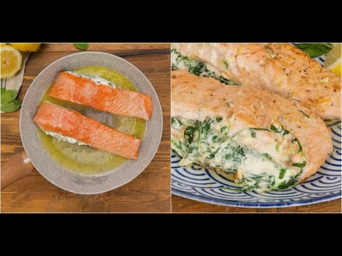 Spinach And Ricotta Salmon: A Quick And Easy To Prepare Recipe That Everyone Will Enjoy!
