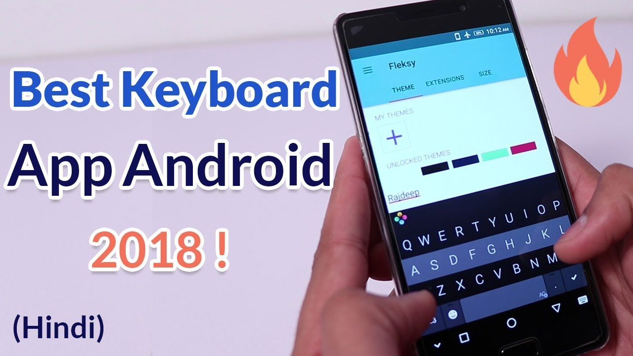 Best Keyboard App for Android - 2018 - Hindi