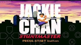 Cara mudah Download + Install Game Jackie Chan Stuntmaster ePSXe Android