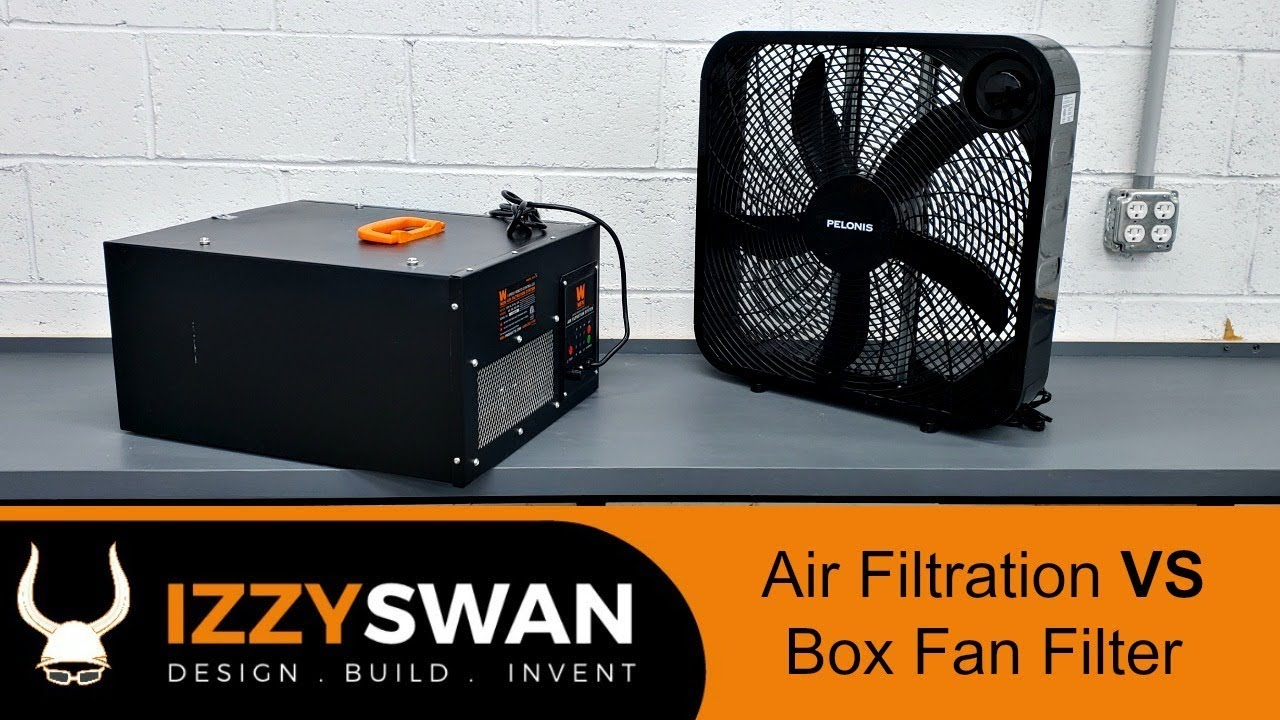Shop Air Filter System VS Box Fan | Surprise
