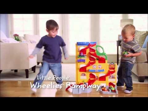 Fisher Price Little People Hellingenbaan DEMO - GIGAspeelgoed