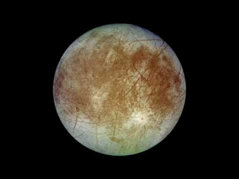 Space Sounds: Europa's Ambient EM Noise For 1 Hour