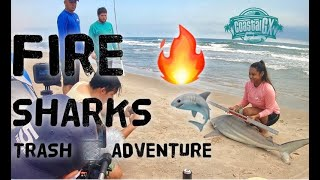 South Padre Island East Cut catches fire and many more adventures!