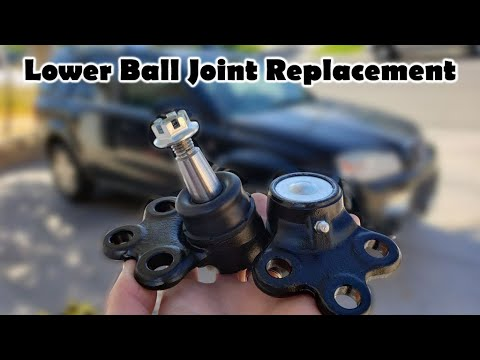 How To Change A Lower Ball Joint - Replacement (Saturn Vue 2002-2010 - 46D2259A)