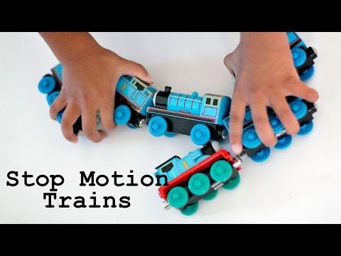 Trains in Stop Motion on the Canon EOS 80D