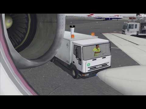 ✈ Tupolev Tu-134 Air Ukraine Flight: LHR - KEF