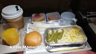 Asiana Airlines OZ746 HKG-ICN (B747 change to A330) Economy Class - 2018/07/17