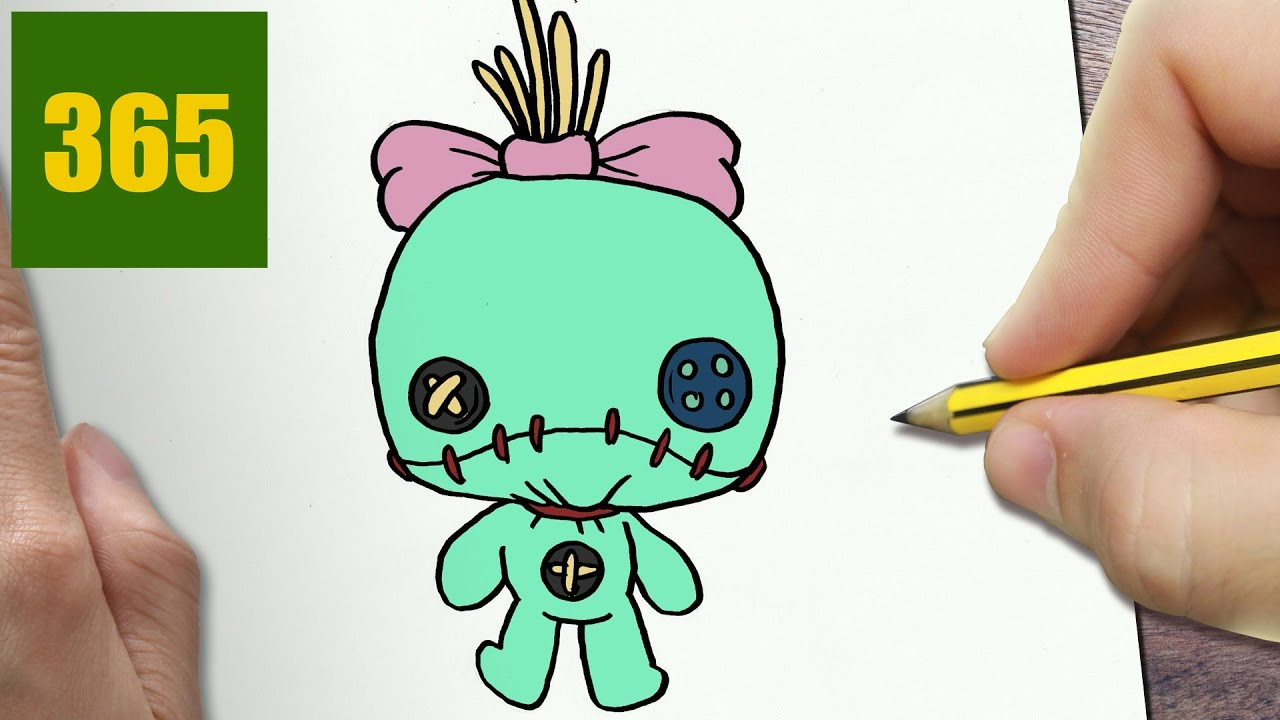 Comment Dessiner Scrump Kawaii étape Par étape Dessins Kawaii