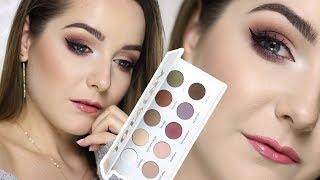 ⭐️ MAKIJAŻ PALETĄ GLAMBOX TOTALNY MAT ⭐️| Milena Makeup