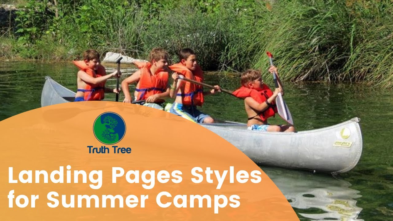 Landing Page Tips for Summer Camps