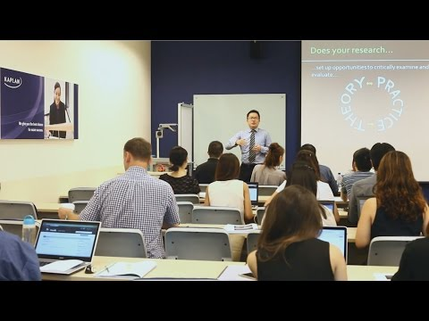 Birmingham City University business degrees at Kaplan Singapore
