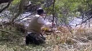 охота на горную форель