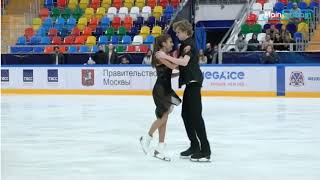 Sofya TYUTYUNINA Alexander SHUSTITSKY FD Первенство Москвы среди юниоров 02 09 2020