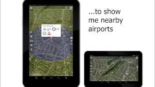 Quadcopter App: Flight Restrictions Map