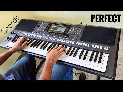 Ed Sheeran – Perfect | Keyboard Cover (CHORDS)