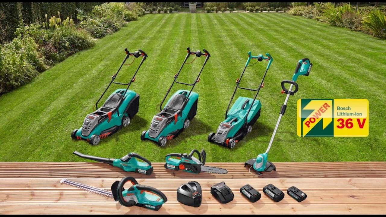 rotak 43 li cordless ergoflex lawnmower youtube. Black Bedroom Furniture Sets. Home Design Ideas