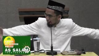 Petunjuk Nabi SAW Tentang Ikhlas oleh Ustadz Adi Hidayat MA
