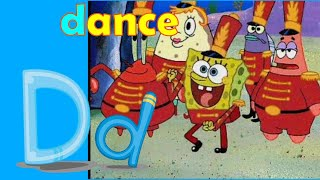 Spongebob Dance Phonics Song   Kidzstation