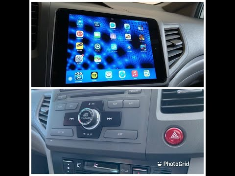 How to install Ipad into the car