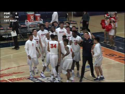 12-22-16 University of Portland vs  Cal State Fullerton