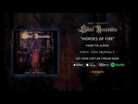 "Mike Lepond's Silent Assassins - ""Hordes of Fire"" (Official Audio)"
