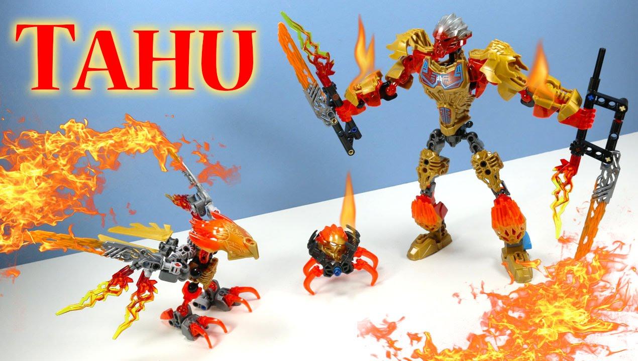 LEGO Bionicle Tahu Uniter of Fire & Ikir Creature 2016 ...  LEGO Bionicle T...
