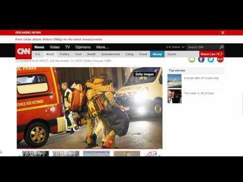 WNN Breaking Report: Paris Attacks