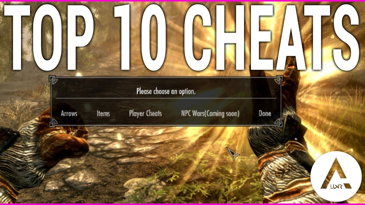 Skyrim Special Edition - Top 10 Cheat Mods - PlayStation 4 & Xbox 1 Mods