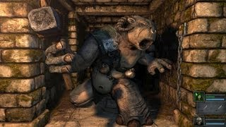 CGRundertow LEGEND OF GRIMROCK for PC Video Game Review