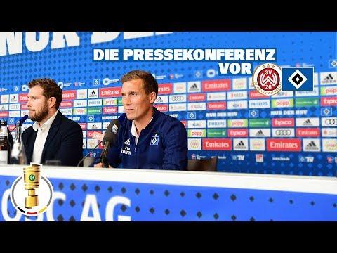 RELIVE: Die Pressekonferenz vor dem Pokalspiel gegen den SV Wehen Wiesbaden