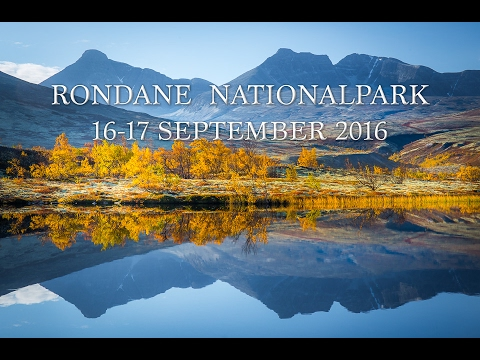 Rondane nationalpark- (Del 2 av 2) fotoresa 16-17 September 2016 - Norgeresa