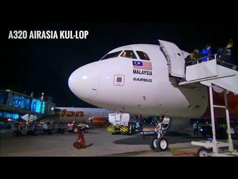 FLIGHT REPORT KUL-LOP AirAsia A320