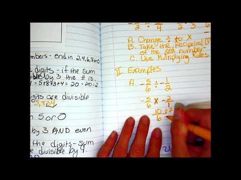Dividing Rational Numbers 2