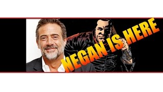 NEGAN IS HERE! CASTING NEWS! The Walking Dead Season 6 Jeffrey Dean Morgan