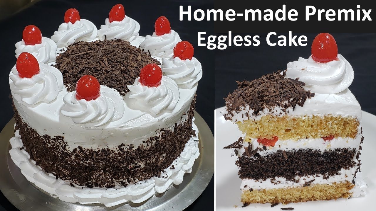 घर में सस्ते में बनाये वैनिला और चॉकलेट केक प्रीमिक्स आसानी से | Homemade Easy cake premix recipe