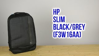 Розпакування HP Slim 15.6 Black/Grey F3W16AA