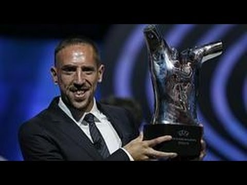 RIBERY GANA el PREMIO MEJOR JUGADOR EUROPA | Ribery wins UEFA 2012-13 Best Player in Europe award