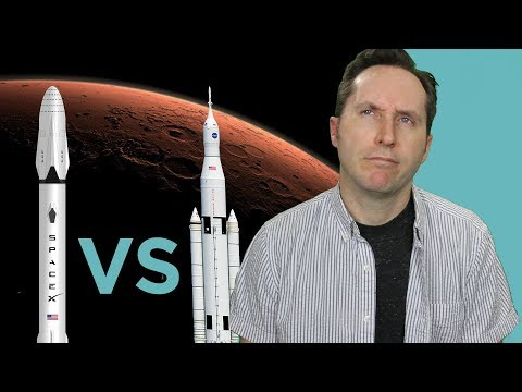 NASA vs SpaceX: Who Will Get To Mars First? | Answers With Joe