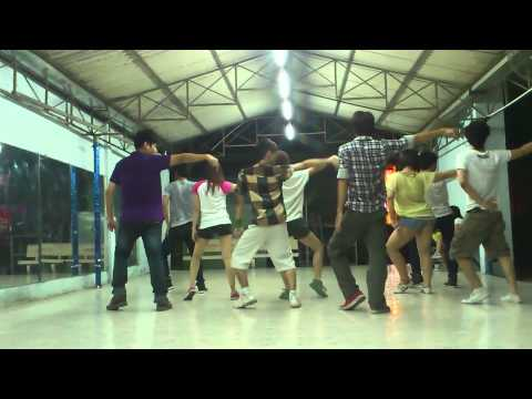 Lop hoc nhay hien dai Binh Thanh - Day by Day - T-ARA - [BoBo