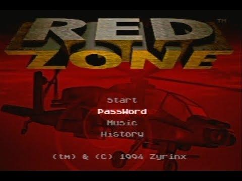 Red Zone - Incredible FMV Intro - Sega Megadrive