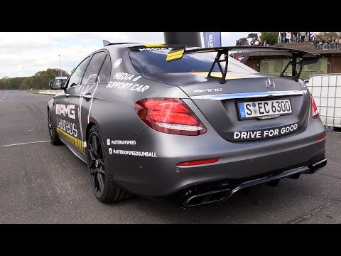 2017 Mercedes-AMG E63 S - Launch Control Start!