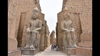 Луксор. Карнак .Грандиозные архитектурные сооружения древнего Египта