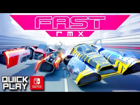 Fast RMX Gameplay for the Nintendo Switch! (Quick Play)