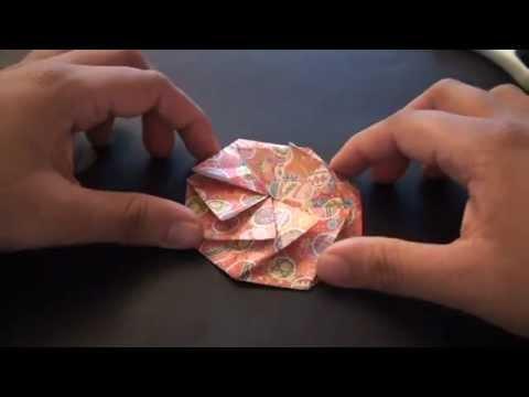 Origami Tato Pleated Coin Purse (Fabric Origami ... - photo#39